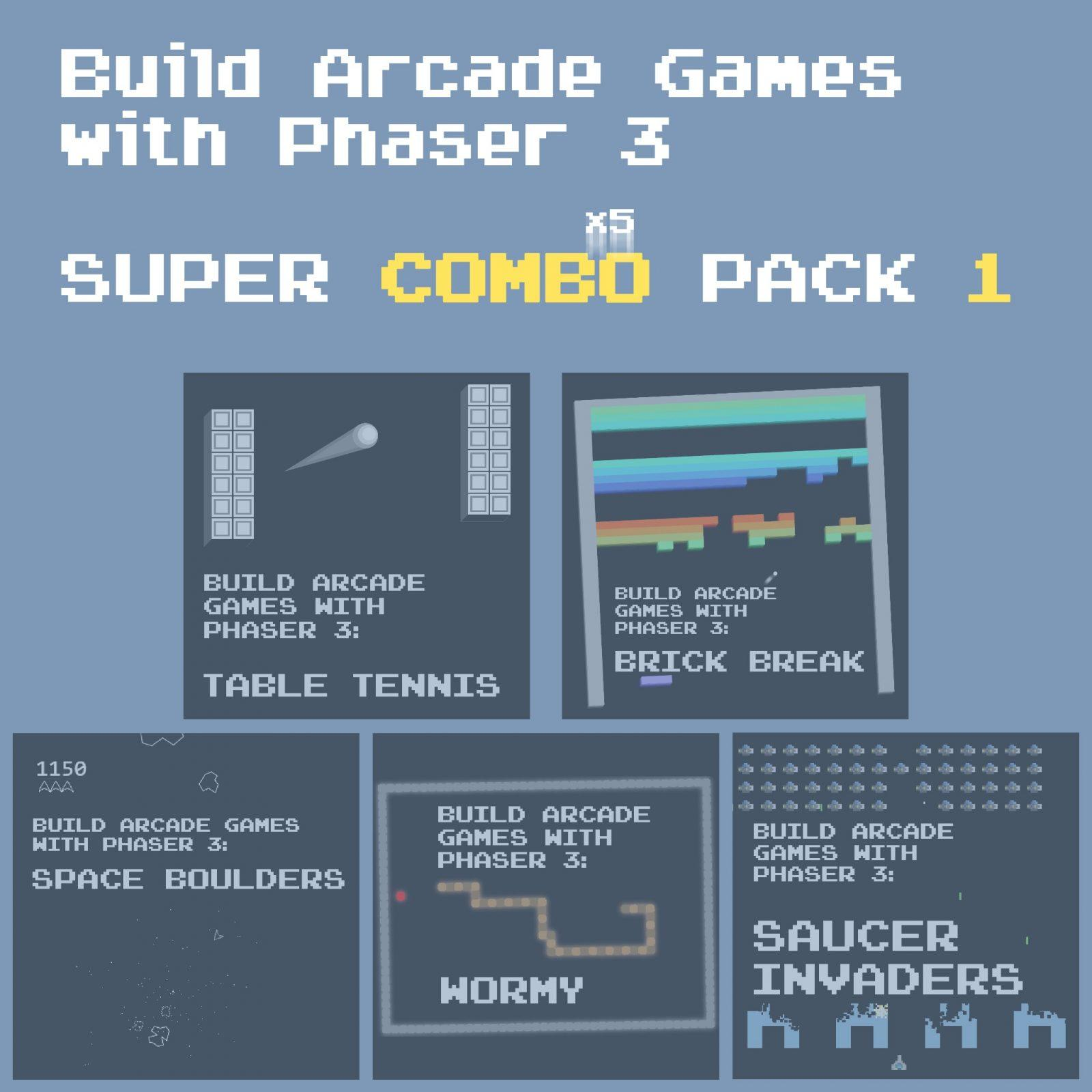 Build Arcade Games with Phaser 3